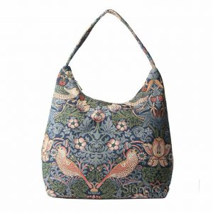 Hobo tas strawberry blue