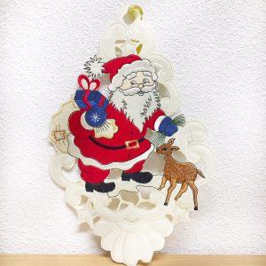 Kersthanger Kerstman en hert