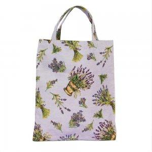 boodschappentas lavendel lila
