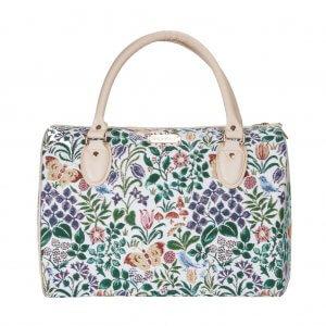 Grote handtas voorjaarsbloem