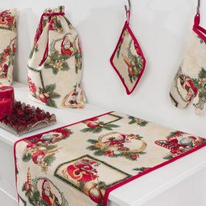 Tafelkleed, luxe gobelin, Christmas Armin