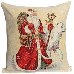 Kussenhoes Kerst BIG SANTA