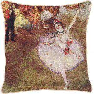 Kunst kussenhoes Edgar Degas: Ballerina