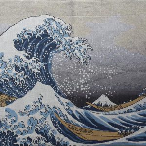 wandkleed Great Wave of Kanagawa