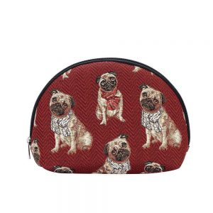 make-up tas groot pug mopshond