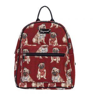 Daypack rugtas Pug ( mopshond)