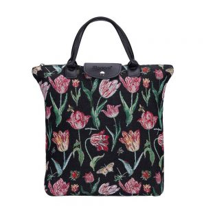 Vouwtasje Marrel's Tulip black