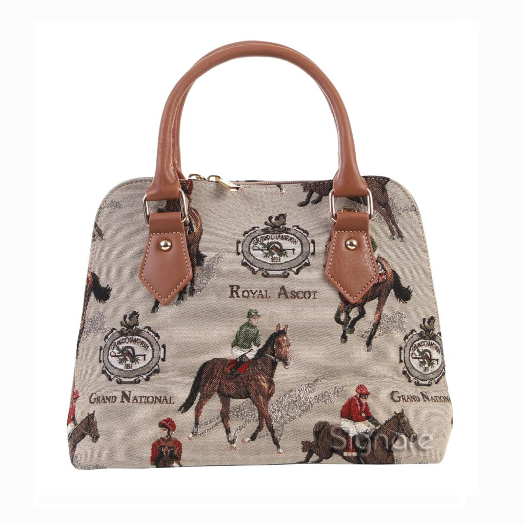 Ascot Racing Paard • Home Royal Quality Shopping Handtas hrtsdCQ