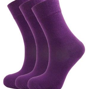 Bamboe sokken 3 paar in Diverse kleuren