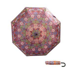 Paraplu haak Strawberry Thief Red ( William Morris )