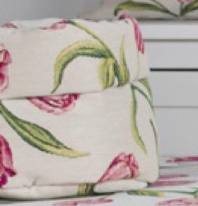 Tafelkleed - luxe gobelin - Tulpen