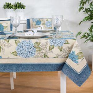 Tafelkleed - luxe gobelin - Hortensia C