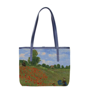 College tas - Poppy Field - Claude Monet