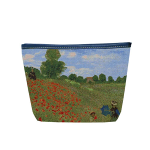 Make-up tas - Poppy Field - Claude Monet