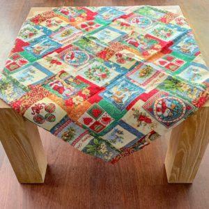 Tafelkleed - Gobelin - Merry Christmas - Vierkant 85 cm
