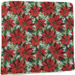 Kussenhoes – Xmass – Poinsettias – Kerstster