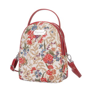 Mini Backpack - Flower Meadows - William Kilburn