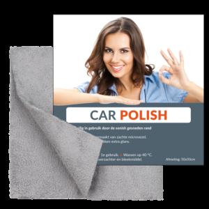 Auto Polish - Car Polish doek - Geeft uw auto een mooie glans