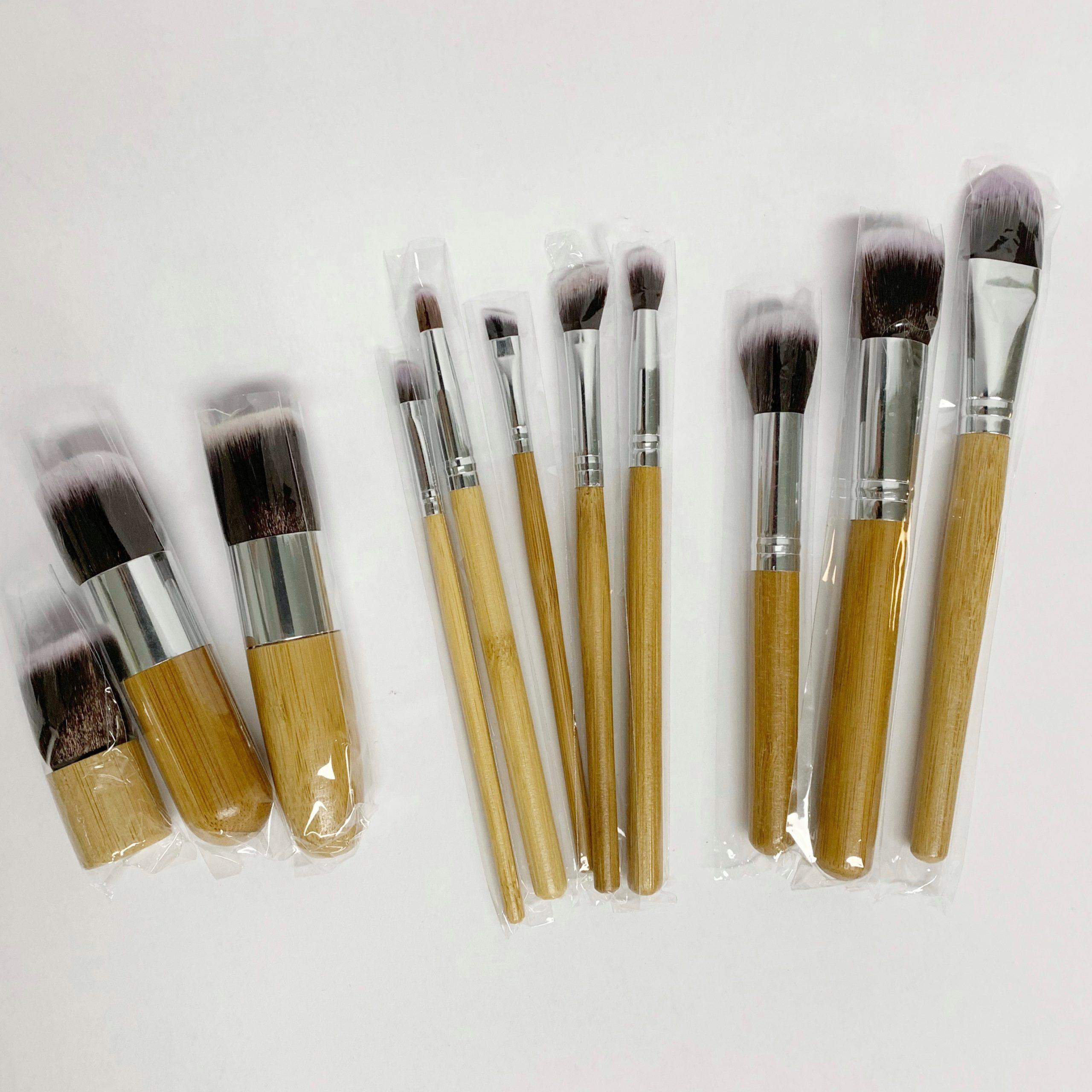 Make up kwasten van Bamboe