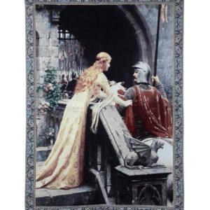 Wandkleed – Wandtapijt – Godspeed – Edmund Leighton