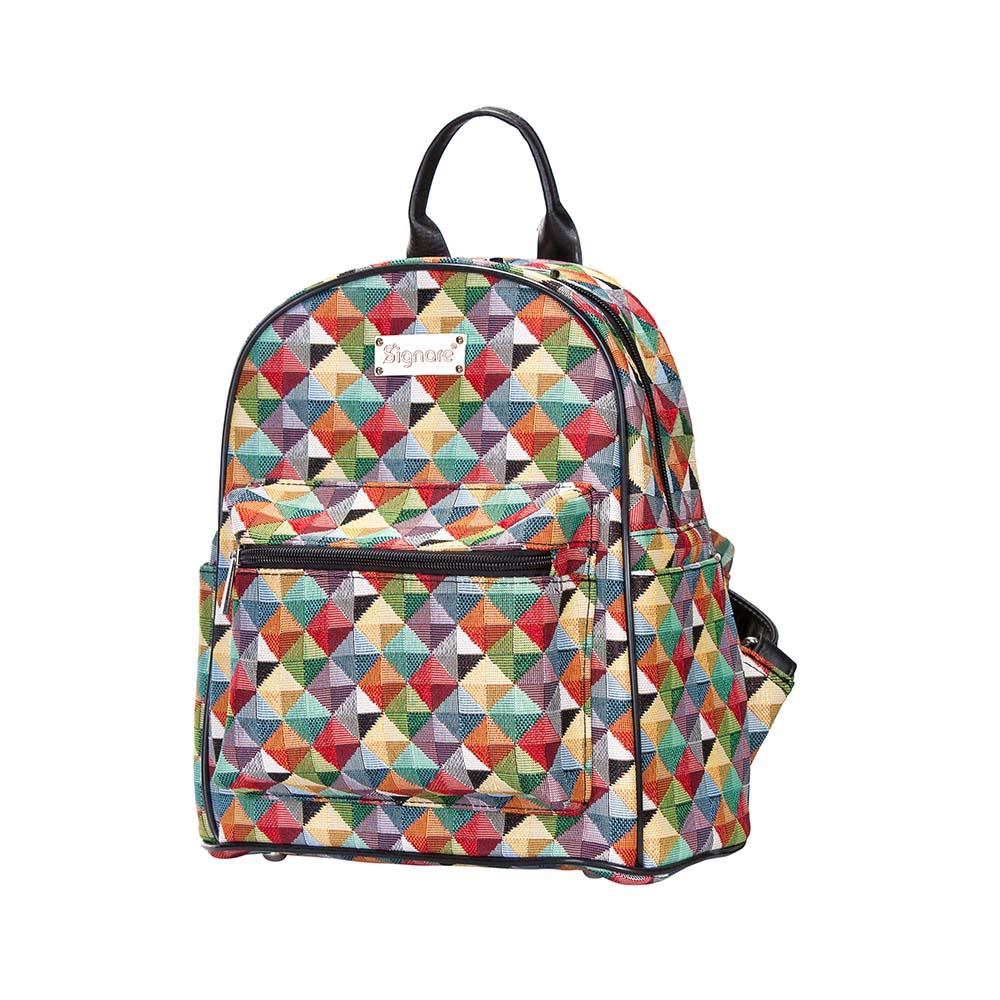 Daypack - Rugtas - Multi Colored Triangle