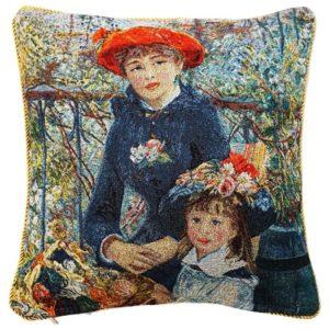 Kunst kussenhoes - Two sisters - Twee zusjes - Pierre-Auguste Renoir